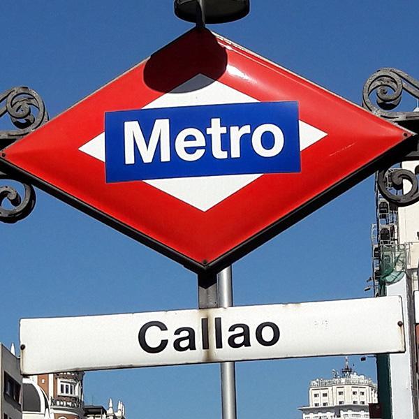 Situación- Hostal en el centro de Madrid, junto a Callao y Gran Vía - Hostal Santo Domingo¨¨¨¨¨¨¨¨